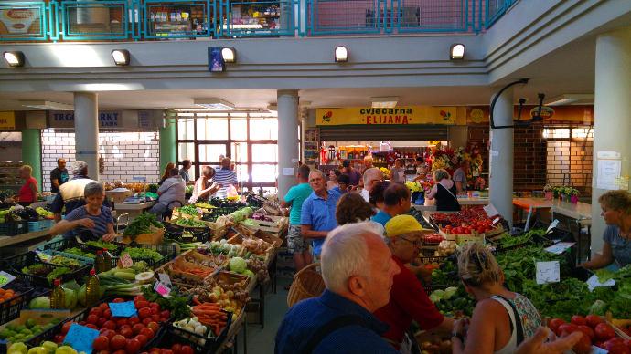 Bauernmarkt Labin
