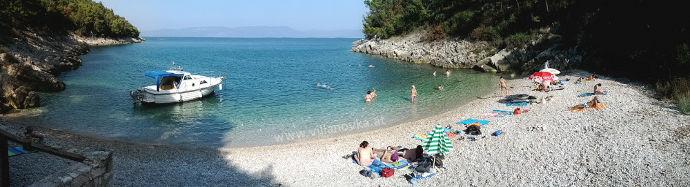 Strand Istrien Drenje Jadrina