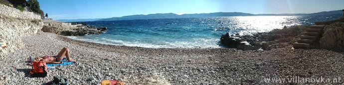 Strand Istrien Ravni Strandbar