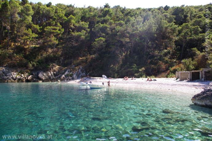 Istrien Strand Jadrina Naturstrand