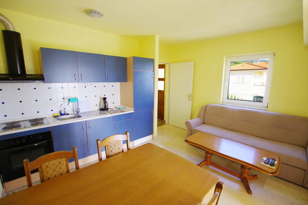 Familienurlaub Kroatien, Kueche Appartement 4