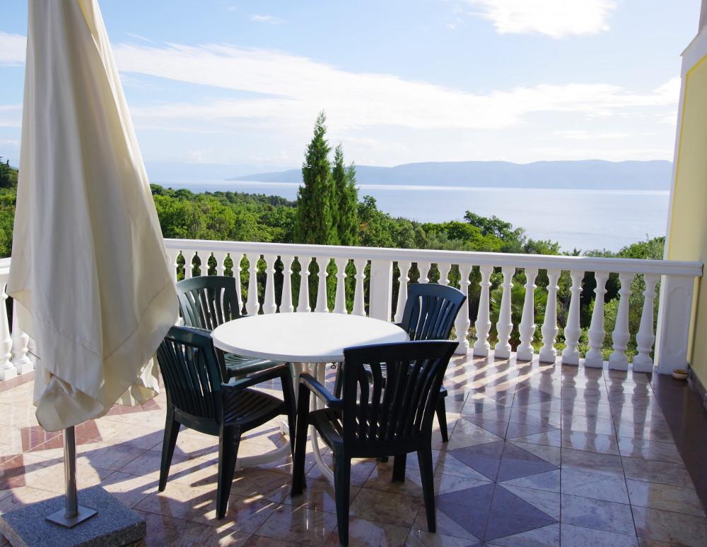 Istrien Appartement Blick aufs Meer Meeresblick