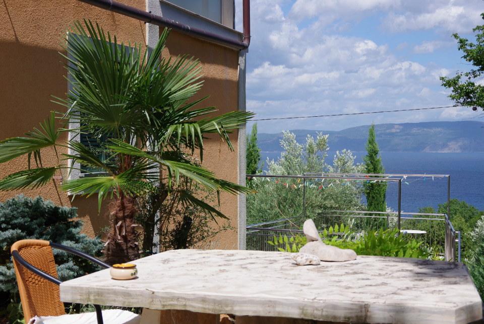 Blick aufs Meer Istrien