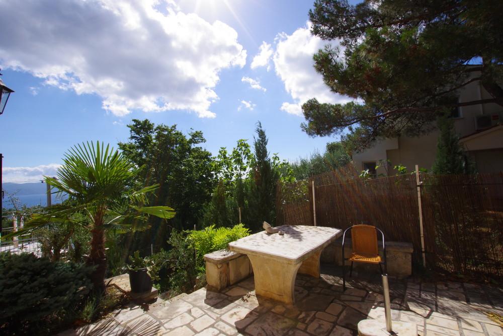 Familienurlaub Kroatien Blick aufs Meer Istrien